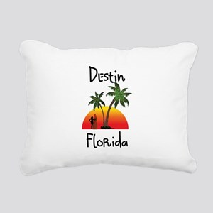 Destin Florida Rectangular Canvas Pillow