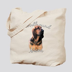 Bloodhound Mom2 Tote Bag