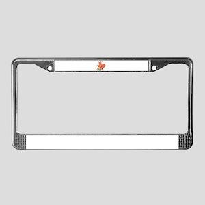 Texas toon License Plate Frame
