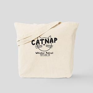 Catnap. Whisker Patrol Tote Bag