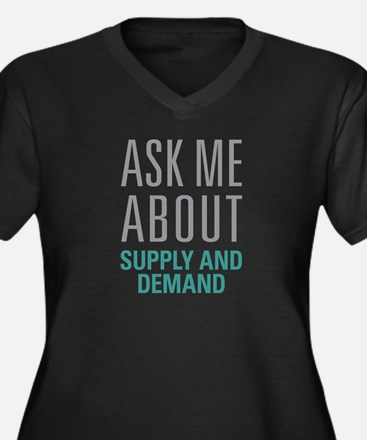 Supply And Demand Plus Size T-Shirt