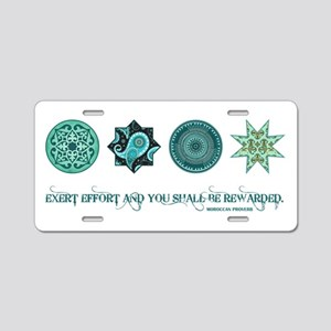 MOROCCAN PROVERB Aluminum License Plate