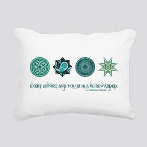 MOROCCAN PROVERB Rectangular Canvas Pillow