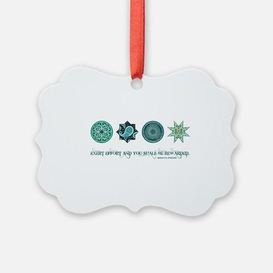 MOROCCAN PROVERB Ornament