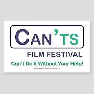 Portlandia - Can'ts Film Festival Sticker