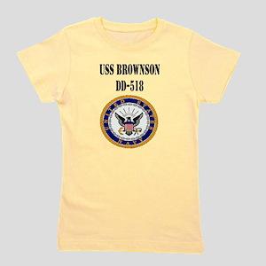 USS BROWNSON Girl's Tee