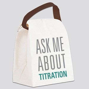 Titration Canvas Lunch Bag