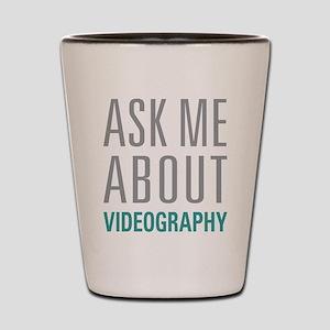 Videography Shot Glass