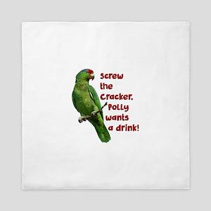 Smart Parrot Queen Duvet