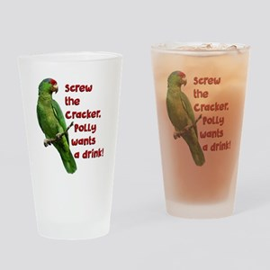 Smart Parrot Drinking Glass