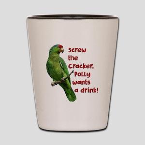 Smart Parrot Shot Glass