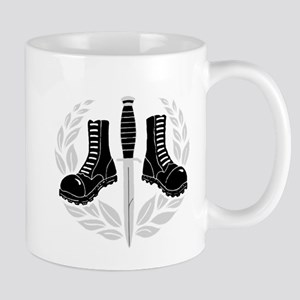 Skinhead Aggro (Silver) Mugs