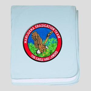 Marijuana Eradication Team baby blanket