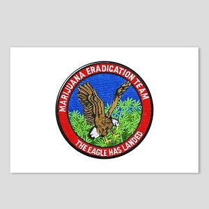 Marijuana Eradication Team Postcards (Package of 8