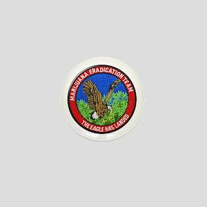 Marijuana Eradication Team Mini Button