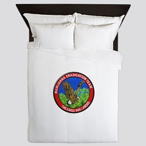 Marijuana Eradication Team Queen Duvet