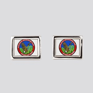 Marijuana Eradication Team Rectangular Cufflinks