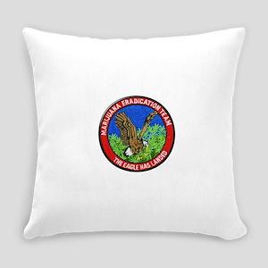 Marijuana Eradication Team Everyday Pillow