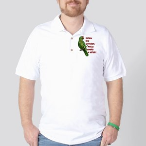 Smart Parrot Golf Shirt