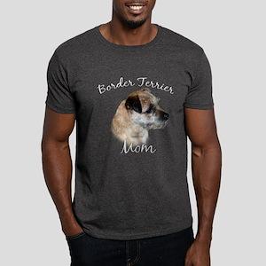 Border Terrier Mom2 Dark T-Shirt