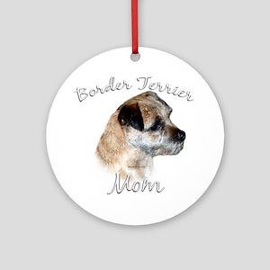 Border Terrier Mom2 Ornament (Round)
