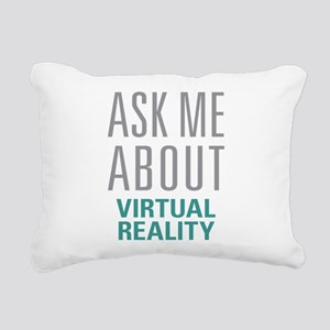 Virtual Reality Rectangular Canvas Pillow