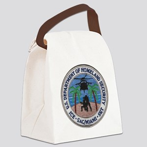 homelandmiami Canvas Lunch Bag