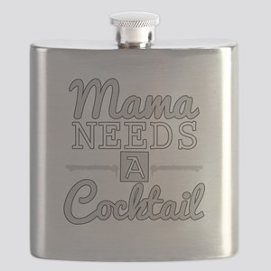 Mama Needs A Cocktail Flask