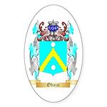 Odazzi Sticker (Oval 50 pk)