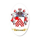 O'Cussane Oval Car Magnet