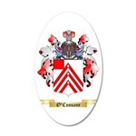 O'Cussane 20x12 Oval Wall Decal