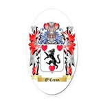 O'Crean Oval Car Magnet