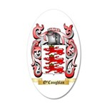 O'Coughlan 35x21 Oval Wall Decal