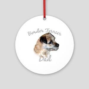 Border Terrier Dad2 Ornament (Round)
