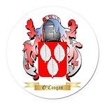O'Coogan Round Car Magnet