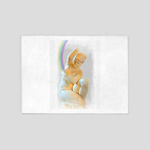Rainbow Venus 5'x7'Area Rug