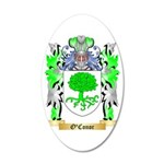 O'Conor 35x21 Oval Wall Decal