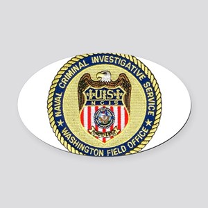 nciswashington Oval Car Magnet