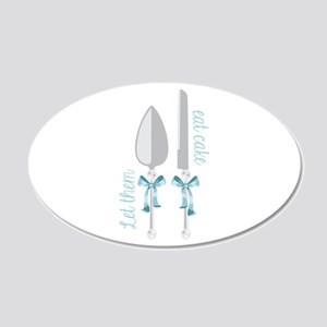 Eat Cake Wall Decal