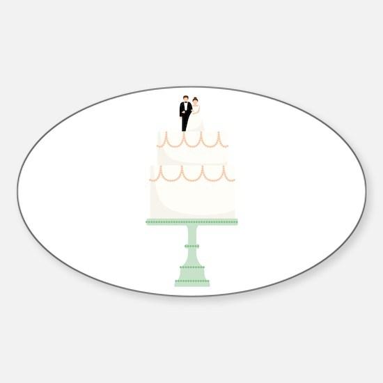 Wedding Cake Decal