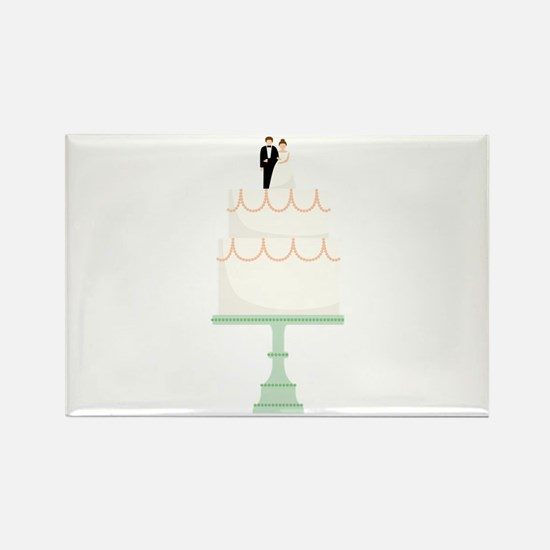 Wedding Cake Magnets