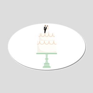 Wedding Cake Wall Decal
