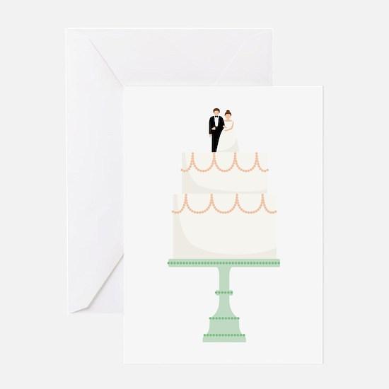 Wedding Cake Greeting Cards