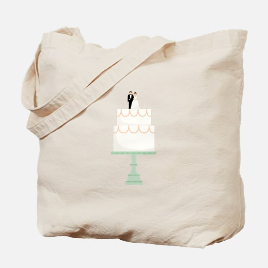 Wedding Cake Tote Bag