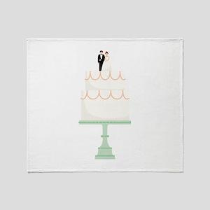 Wedding Cake Throw Blanket