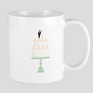 Wedding Cake Mugs