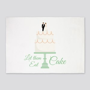 Eat Cake 5'x7'Area Rug