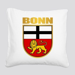 Bonn Square Canvas Pillow