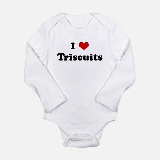Cute Personalized heart Long Sleeve Infant Bodysuit