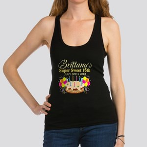 CUSTOM 16TH Racerback Tank Top